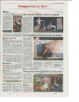 Article Presse Portes Billom Cie à Tiroirs